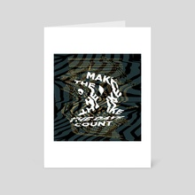 Make the days count  - Art Card by Juriaan Hogenboom
