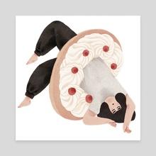 Donut Euphoria - Canvas by Jeannie Phan
