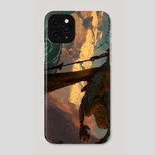 Dragon Rider - Phone Case by Joon Ahn