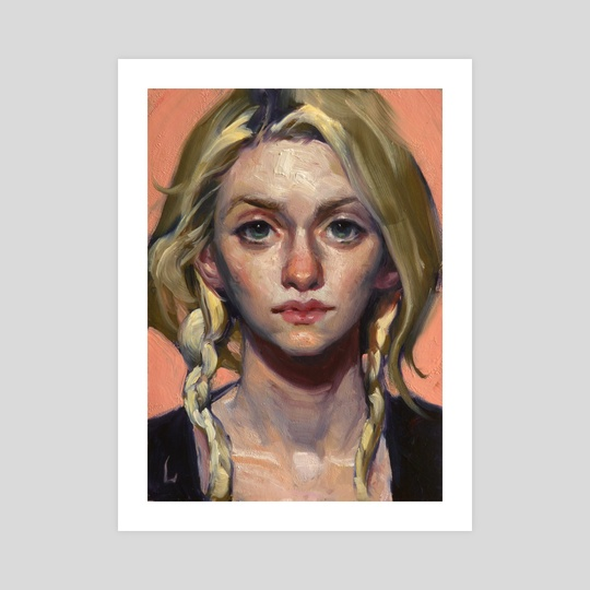 Just Peachy by John Larriva