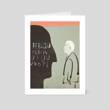Passwords - Art Card by Jiong Li