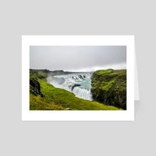 I Spy Iceland - Art Card by Alex Tonetti