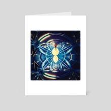 Butterfly effect - Art Card by Vince  Boisgard