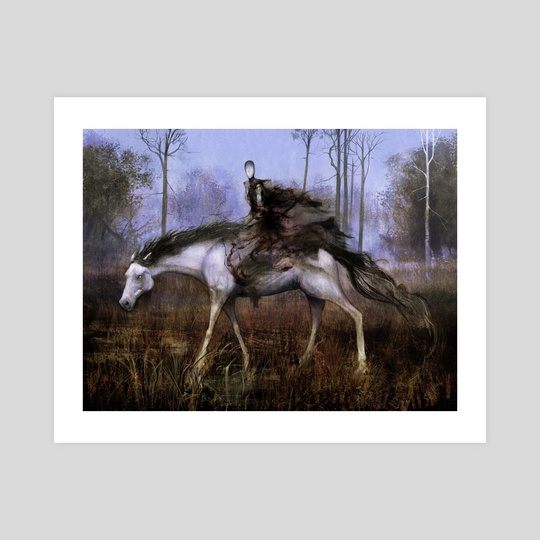 Pale Rider of Trostad by Seb McKinnon