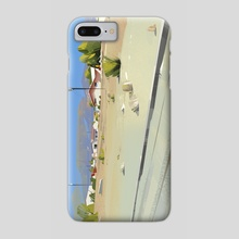 landscape - Phone Case by Michał Sawtyruk