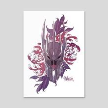 Sauron Colour - Acrylic by Akira Sain