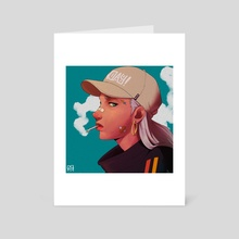 RDCR - Heads Up - Art Card by Rico Ramadhan