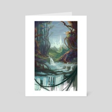 Forgotten forests - Art Card by Alice Cao