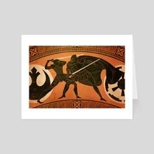 monomyth - Art Card by Angelica Alzona