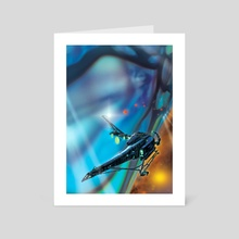 Catchship 55 - Art Card by Paul Rivoche