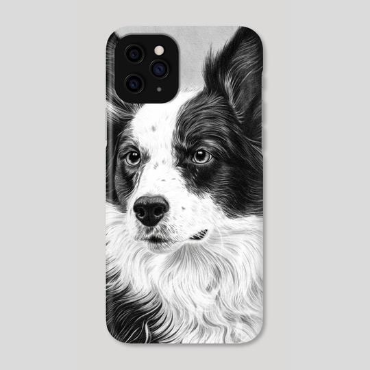 Dog Portrait 2 by Aurelia Chaintreuil