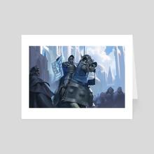 Azorius Knight-Arbiter - Art Card by Even Mehl Amundsen