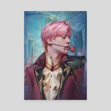 BTS Prince Series - Jin - Canvas by Yimei Zhu
