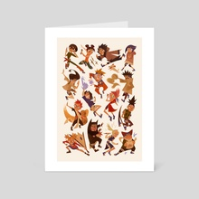 Naruto - Art Card by Izzy Abreu