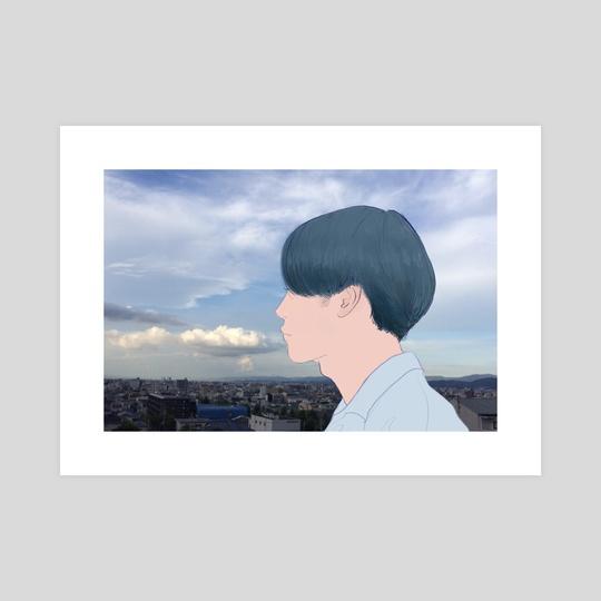 my mind is always elsewhere by Amity Miyabi