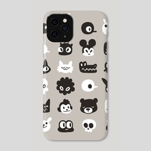 Meet lots of different people :) - Phone Case by Dominique Ferland