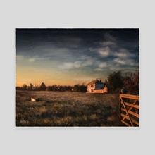 Dawn - Canvas by Tobias