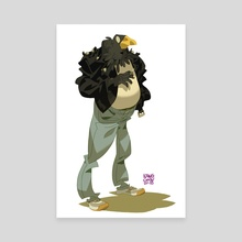 Crow Gang No.2 - Canvas by MinJung Kang