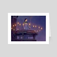 Magic: The Gathering - Overnight Vigil - Art Card by Alexander Forssberg