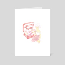 See you soon - Art Card by JK  ミ★