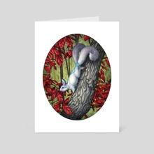 Autumn Spirit - Art Card by Elisabeth Alba
