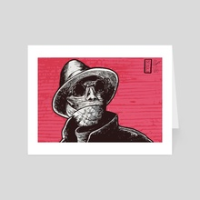 The Invisible Man - Art Card by Michael Calderon