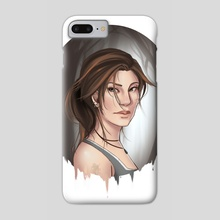 Lara Croft - Phone Case by Lilia Smith