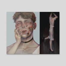 Dazed - Acrylic by Ellie Hsu