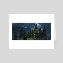 Jungle Temple 2 - Art Card by Yohann Schepacz