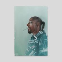 Snoop Dogg - Canvas by Wout de Zeeuw