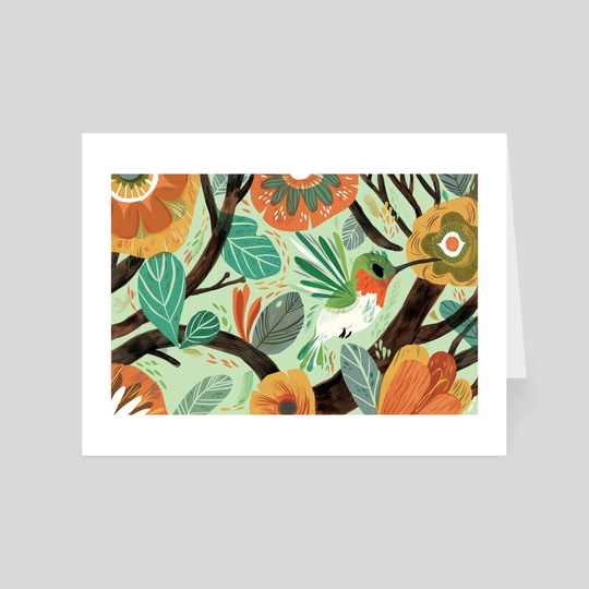 Hummingbird by Meg Hunt