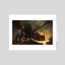 Tony, the Dragon - Art Card by Mike Azevedo