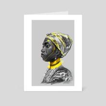 TRibal  - Art Card by JeffRey  Onyango