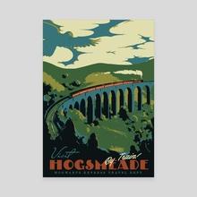 Visit Hogsmead - Canvas by Matheus Lopes