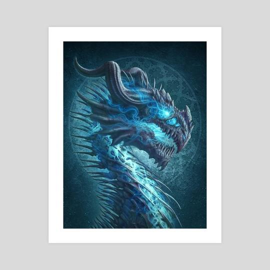 Undead Dragon by Kerem Beyit