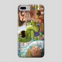 The Indestructibles - Phone Case by Luigi Monaldi