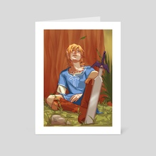 Link - Art Card by Terri S.