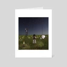Good Night Darling - Art Card by Alastair Magnaldo