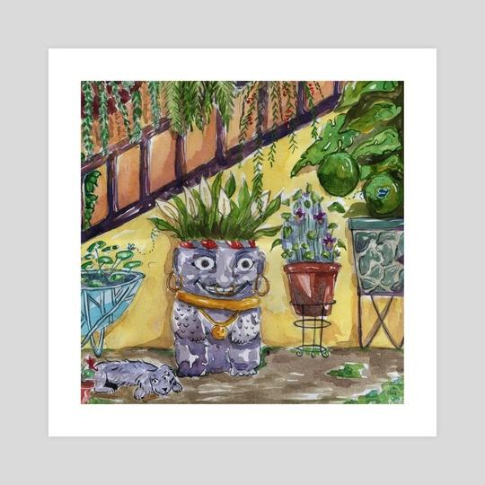 Magic Garden Guardian by Barbra Yaquer