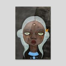 Rufi  - Acrylic by Adulphina Imuede