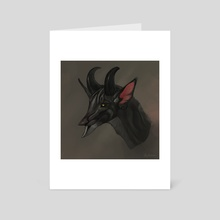 Qyrma - Art Card by dschunai