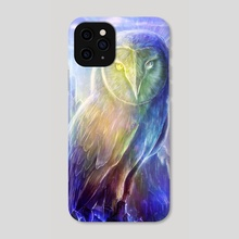 Crystalline Owl - Phone Case by Louis Dyer