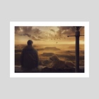 Amazing view at sunset - Art Print by Dejan Travica