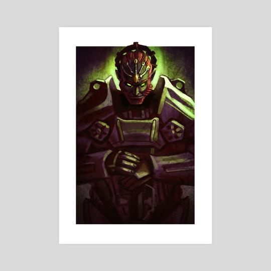 Power Armor Ganondorf by Andrew Tran