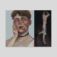 Dazed - Canvas by Ellie Hsu