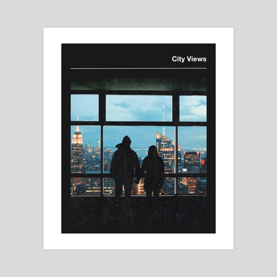 City Views-New York city Couple by Anthony Londer
