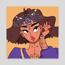 Amazighen - Canvas by Rododo