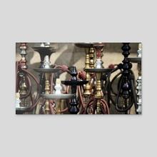 Khan El Khalili Hookah Store - Acrylic by Vinicius Paciello