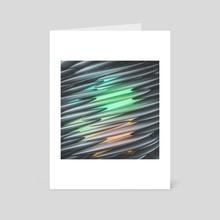 raise through - Art Card by drewmadestuff