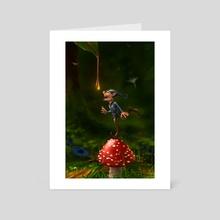 Honey Drops - Art Card by Christos Karapanos